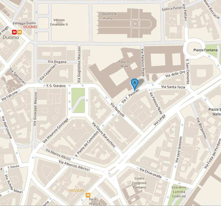 Mappa ubicazione Sportello Energia