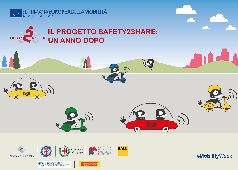 """Webinar """"Progetto Safety2Share: un anno dopo"""""""