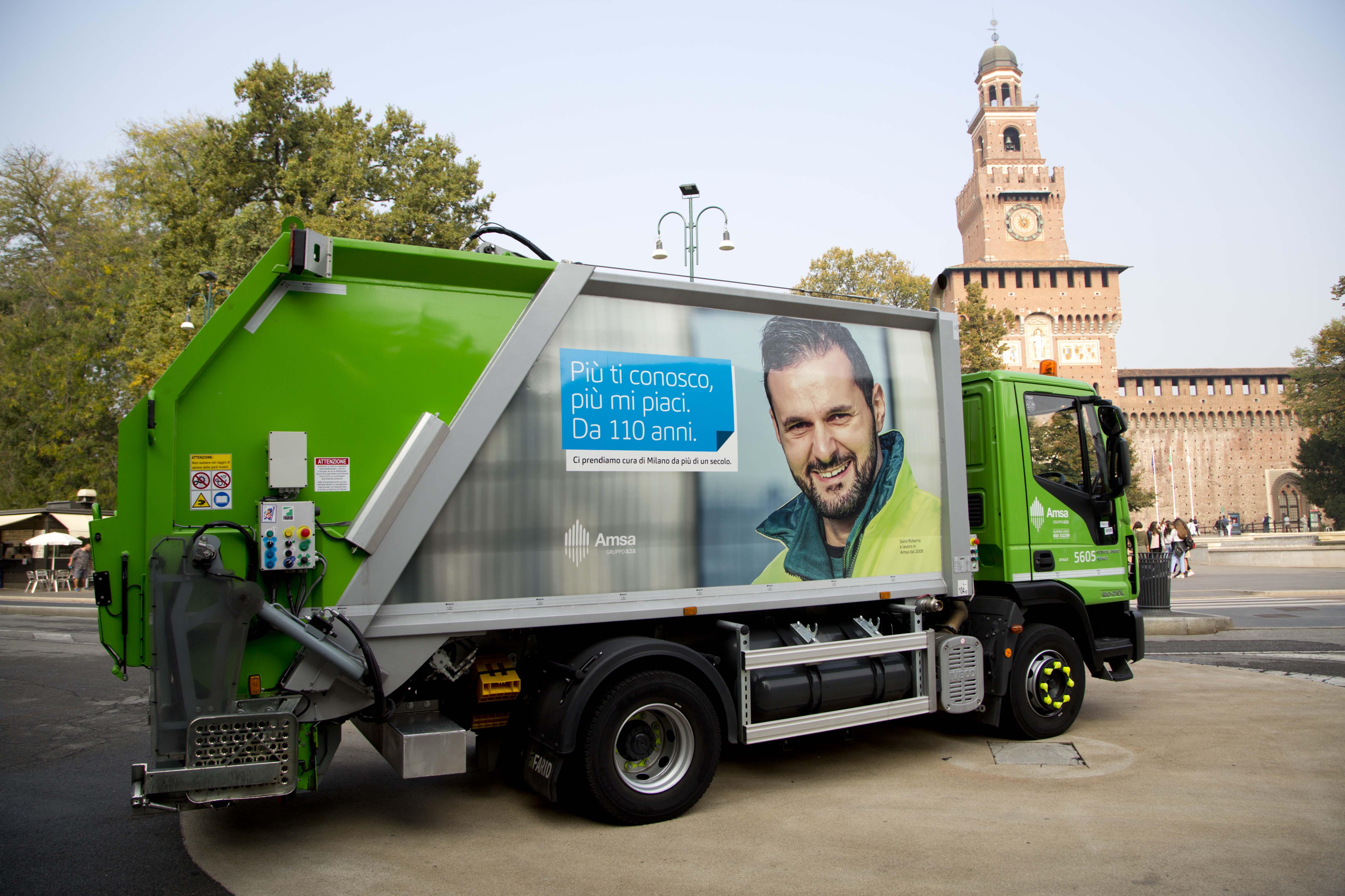 Video sul Contatore Ambientale del sistema di raccolta differenziata, riciclo di materia e recupero energetico di Milano